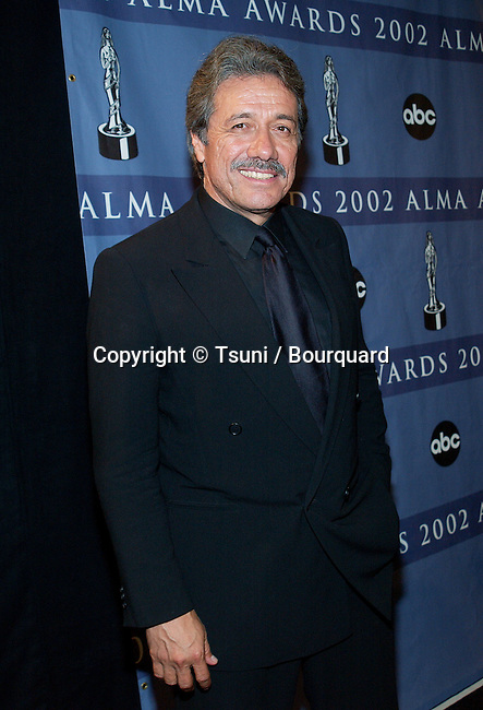 Edward James Olmos backstage at the The Alma Awards -American Latino Media Awards-2002  at the Shrine Auditorium in Los Angeles. May 18, 2002.          -            OlmosEdwardJames50.jpg