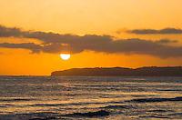 Sunset View of Dana Point California