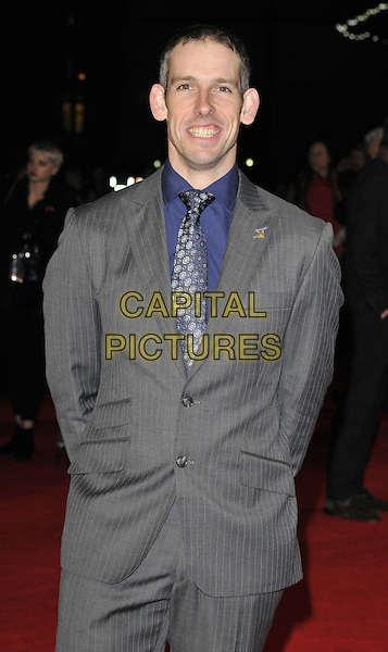 LONDON, ENGLAND - NOVEMBER 25: Etienne Stott attends the &quot;Unbroken&quot; UK film premiere, Odeon Leicester Square cinema, Leicester Square, on Tuesday November 25, 2014 in London, England, UK. <br /> CAP/CAN<br /> &copy;Can Nguyen/Capital Pictures