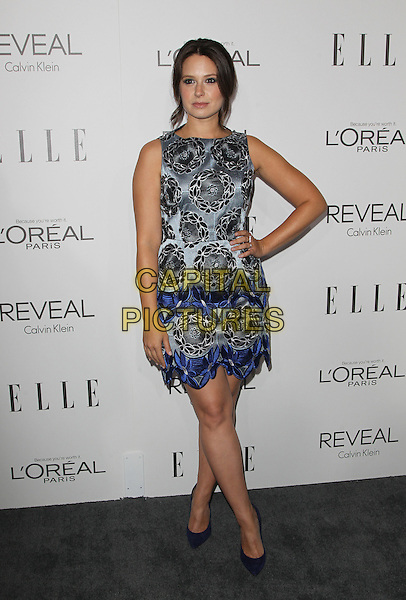Beverly Hills, CA - October 20: Katie Lowes Attending 2014 ELLE Women In Hollywood Awards At the Four Seasons Hotel  California on October 20, 2014.  <br /> CAP/MPI/RTNUPA<br /> &copy;RTNUPA/MediaPunch/Capital Pictures