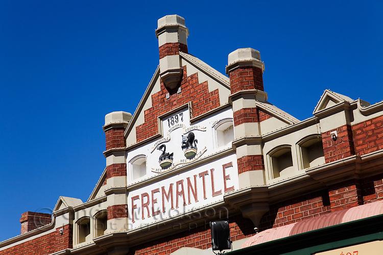 The historic Fremantle Markets, dating back to 1897.  Fremantle, Western Australia, AUSTRALIA.
