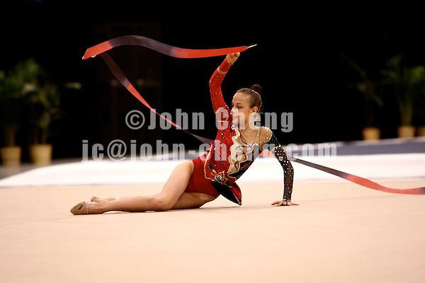 Photo by John Cheng - VISA Championships 2007 in San Jose, CA.RhythmicsSyatkina