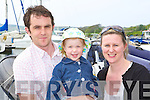 Peter, Orna and Irene Cornally Firies soaking up the sunshine at the boat show at Caherciveen Marina on Saturday   Copyright Kerry's Eye 2008