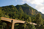 Moffett Creek Bridge, Columbia River Gorge, Oregon