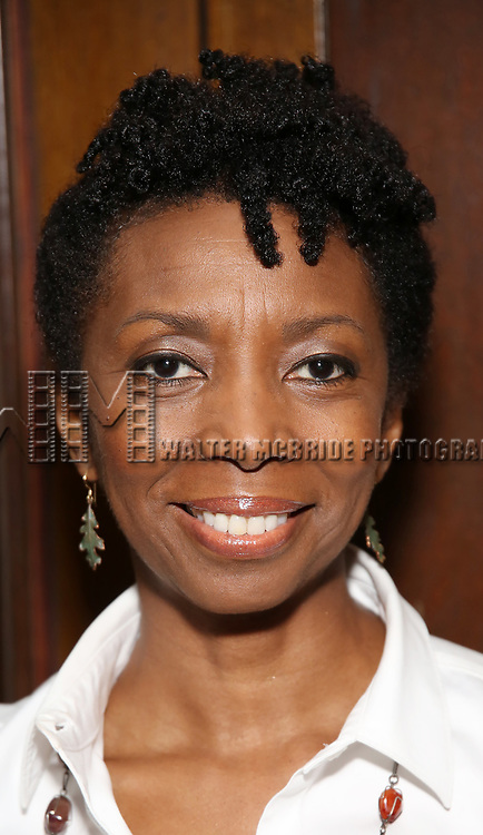 Sharon Washington attends the Vineyard Theatre's Annual Emerging Artists Luncheon at The National Arts Club on June 6, 2017 in New York City.