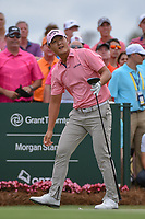 Danny Lee (NZL) watches his tee shot on 1 during round 4 of The Players Championship, TPC Sawgrass, at Ponte Vedra, Florida, USA. 5/13/2018.<br /> Picture: Golffile | Ken Murray<br /> <br /> <br /> All photo usage must carry mandatory copyright credit (&copy; Golffile | Ken Murray)