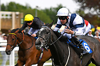 Winner of The Byerley Stud British EBF Fillies' Handicap Bella Vita ridden by Charles Bishop and trained by Eve Johnston Houghton  during Afternoon Racing at Salisbury Racecourse on 16th May 2019