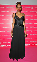 Judi Shekoni (Judthi Shekoni) at the Bodyworlds human anatomy exhibition VIP launch, The London Pavilion, Piccadilly Institute, London, England, UK, on Thursday 04 October 2018.<br /> CAP/CAN<br /> ©CAN/Capital Pictures