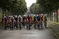 peloton in the rain<br /> <br /> Dwars door het Hageland (1.1)<br /> 1 Day Race: Aarschot &gt; Diest (194km)