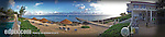12 July 2013: Oceanside panorama view of the Cobalt Coast Resort, in West Bay, Grand Cayman Island. Located in the British West Indies in the  Caribbean, the Cayman Islands are renowned for excellent scuba diving, snorkeling, beaches and banking.  Mandatory Credit: Ed Wolfstein Photo
