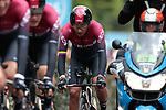 Egan Bernal (COL) and Team Ineos first off during Stage 2 of the 2019 Tour de France a Team Time Trial running 27.6km from Bruxelles Palais Royal to Brussel Atomium, Belgium. 7th July 2019.<br /> Picture: Colin Flockton | Cyclefile<br /> All photos usage must carry mandatory copyright credit (© Cyclefile | Colin Flockton)