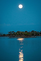Supermoon shines over Marco Island ... May 5, 2012.... photo by Debi Pittman Wilkey