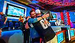 John Gorsuch gets hug from rail