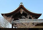 Chokushimon Gate for Imperial Messenger, Momoyama period, Tenryuji Heavenly Dragon Temple, Kyoto, Japan