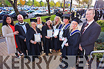 Tracey O'Brien, Maurice O'Brien (Lecturer in Culinary Arts) Nora Coffey , Kathleen Coffey  Noreen Sparling, Teresa McCarthy, Kathleen McCarthy, Ann O'Brien, T.J. O'Connor (Head of |Section Hotel, Culinary and Tourism Department)  at the Institute of Technology Tralee  Autumn Conferring of Awards Ceremony at the Brandon Hotel on Friday