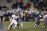 Nevada quarterback Carson Strong (12 ) throws against New Mexico second half of an NCAA college football game in Reno, Nev., Saturday, Nov. 2, 2019. (AP Photo/Tom R. Smedes)