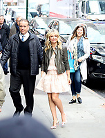 NEW YORK, NY, 03.04.2017 -SARAH-GELLAR -  A atriz norte-americana Sarah Michelle Gellar é vista chegando a um programa de televisão na região da Times Square na Ilha de Manhattan na cidade de New York nesta segunda-feira, 03. (Foto: William Volcov/Brazil Photo Press)