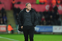 Steve Cooper Head Coach of Swansea City during the Sky Bet Championship match between Swansea City and Millwall at the Liberty Stadium in Swansea, Wales, UK. Saturday 23rd November 2019