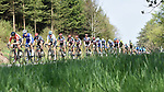 The peleton in action during the 104th edition of La Doyenne, Liege-Bastogne-Liege 2018 running 258.5km from Liege to Ans, Belgium. 22nd April 2018.<br /> Picture: ASO/Karen Edwards | Cyclefile<br /> <br /> <br /> All photos usage must carry mandatory copyright credit (&copy; Cyclefile | ASO/Karen Edwards)