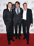 Colin Firth,Tom Hooper and Geoffrey Rush attends the AFI Fest 2010 Screening of The King's Speech held at The Grauman's Chinese Theatre in Hollywood, California on November 05,2010                                                                               © 2010 Hollywood Press Agency