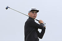 Luke Curran (Westmanstown) on the 10th tee during the Final round in the Connacht U16 Boys Open 2018 at the Gort Golf Club, Gort, Galway, Ireland on Wednesday 8th August 2018.<br /> Picture: Thos Caffrey / Golffile