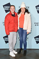 Samantha Spiro at the launch party for Skate at Somerset House, London, UK. <br /> 14 November  2017<br /> Picture: Steve Vas/Featureflash/SilverHub 0208 004 5359 sales@silverhubmedia.com