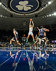 January 29, 2020; Dane Goodwin (23) shoots against Wake Forest. (Photo by Matt Cashore)