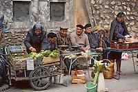 Europe/France/Languedoc-Roussillon/66/Pyrénées-Orientales/Elne: Le marché [Non destiné à un usage publicitaire - Not intended for an advertising use]<br /> PHOTO D'ARCHIVES // ARCHIVAL IMAGES<br /> FRANCE 1980