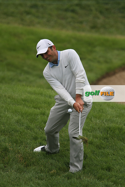 Francesco Molinari (ITA) on the 1st on Day 4 of the Alstom Open de France at Golf National,  Saint-Quentin-En-Yvelines, Paris, France, 8/7/12...(Photo Jenny Matthews/www.golffile.ie)