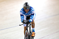 Peter Ashworth of Auckland competes in the Masters Men 4 2000m IP final at the Age Group Track National Championships, Avantidrome, Home of Cycling, Cambridge, New Zealand, Friday, March 17, 2017. Mandatory Credit: © Dianne Manson/CyclingNZ  **NO ARCHIVING**