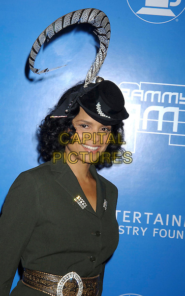 VICTORIA ROWELL.During the 2004 Grammy Jam Event Celebrating the Music of Earth, Wind & Fire held at the Wiltern LG Theatre, Los Angeles, California, USA, .December 11th 2004..portrait headshot black hat.**UK SALES ONLY**.Ref: ADM.www.capitalpictures.com.sales@capitalpictures.com.©Capital Pictures.