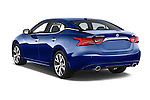 Car pictures of rear three quarter view of2016 Nissan Maxima SV 4 Door Sedan Angular Rear