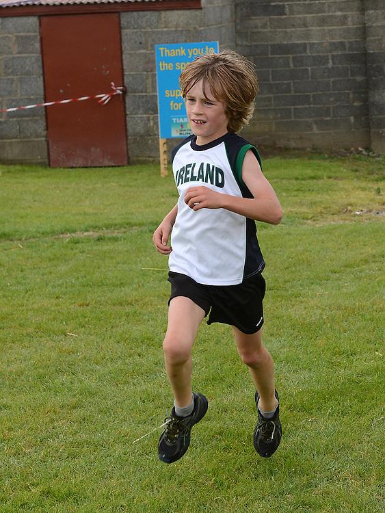 James Russell running in Tiaran's 5K run at Hunterstown. Photo:Colin Bell/pressphotos.ie
