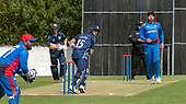 Issued by Cricket Scotland - Scotland V Afghanistan 2nd One Day International - Grange CC - Kyle Coetzer batting with Matthew Cross - picture by Donald MacLeod - 10.05.19 - 07702 319 738 - clanmacleod@btinternet.com - www.donald-macleod.com