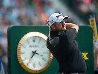 20.07.2014. Hoylake, England. The Open Golf Championship, Final Round.  Shane LOWRY [ROI] tees off