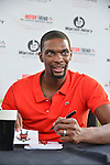 DAVIE, FL - JANUARY 25: Chris Bosh holds a signing for fans at Family Fun Fest at Motor Trend Broward  on January 25, 2014 in Miami, Florida. (Photo by Johnny Louis/jlnphotography.com)