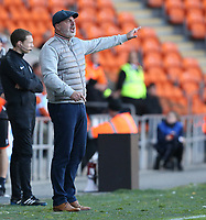 Rochdale manager Keith Hill shouts instructions to his team from the dug-out <br /> <br /> Photographer Stephen White/CameraSport<br /> <br /> The EFL Sky Bet League One - Blackpool v Rochdale - Saturday 6th October 2018 - Bloomfield Road - Blackpool<br /> <br /> World Copyright © 2018 CameraSport. All rights reserved. 43 Linden Ave. Countesthorpe. Leicester. England. LE8 5PG - Tel: +44 (0) 116 277 4147 - admin@camerasport.com - www.camerasport.com