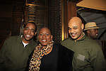 Ananias Dixon & Nana & Melvin Huffnagle - Layon Gray's Black Angels Over Tuskegee goes into its 4th year as they celebrate their 3rd Anniversary on March 2, 2013 at the Actors Temple Theatre, New York City, New York.  (Photo by Sue Coflin/Max Photos)