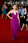 LOS ANGELES, CA. - September 20: Ginnifer Goodwin arrives at the 61st Primetime Emmy Awards held at the Nokia Theatre on September 20, 2009 in Los Angeles, California.