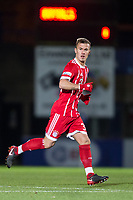 Niklas Dorsch of Bayern Munich II during the Premier League International Cup match between Reading U23 and Bayern Munich II at the Adams Park, Wycombe, England on 8 December 2017. Photo by Andy Rowland.