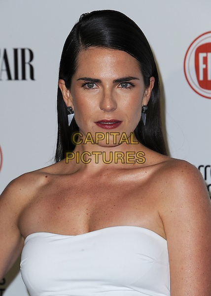 HOLLYWOOD, CA - FEBRUARY 17:  Karla Souza at the Vanity Fair and Fiat &quot;Young Hollywood&quot; event at No Vacancy on February 17, 2015 in Hollywood, California. <br /> CAP/MPI/PGSK<br /> &copy;PGSK/MediaPunch/Capital Pictures