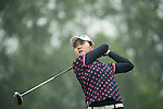 Lin Tzu-Chi of Chinese Taipei tees off during Round 4 of the World Ladies Championship 2016 on 13 March 2016 at Mission Hills Olazabal Golf Course in Dongguan, China. Photo by Victor Fraile / Power Sport Images