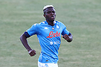 Victor Osimhen of SSC Napoli looks on<br /> during the friendly football match between SSC Napoli and SS Teramo Calcio 1913 at stadio Patini in Castel di Sangro, Italy, September 04, 2020. <br /> Photo Cesare Purini / Insidefoto