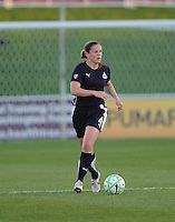 Washington Freedom defender Cat Whitehill(4).  Boston Breakers defeated The Washington Freedom 3-1 at The Maryland SoccerPlex,  Saturday April 18, 2009.