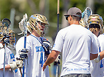Corona Del Mar, CA 04/02/16 - Brennan Greenwald (Corona Del Mar #44) in action during the non-conference game between the Nike/LM High School Boys' National Western Region #4 Torrey Pines (#4) and #5 Corona Del Mar.  Torrey Pines defeated Corona Del Mar 9-8 in overtime.
