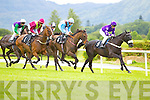 Action at Killarney races ladies day on Thursday.
