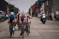 defending champion Mathieu van der Poel (NED/Corendon-Circus) leading the way<br /> <br /> 3rd Dwars Door Het hageland 2018 (BEL)<br /> 1 day race:  Aarschot > Diest: 198km