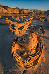 Sunset at The Cracked Eggs, Bisti Badlands ©2017 James D Peterson.  The Bisti/De-Na-Zin Wilderness, in northwestern New Mexico, is home to one of the most amazing and haunting landscapes on the planet.