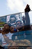 SÃO PAULO, SP, 01.05.2019: CORINTHIANS - CHAPECOENSE - Movimentação da torcida antes da partida entre Corinthians (SP) e Chapecoense (SC) válida pela segunda rodada do Campeonato Brasileiro, quarta-feira (01) na Arena Corinthians em São Paulo. (Foto: Maycon Soldan/Código19)