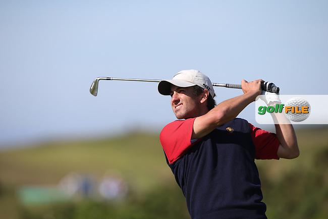 Patrick Hanauer (Belgium) during The Amateur Championship 2014 from Royal Portrush Golf Club, Portrush, Northern Ireland. Picture:  David Lloyd / www.golffile.ie